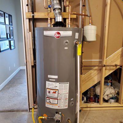 heater installation 1